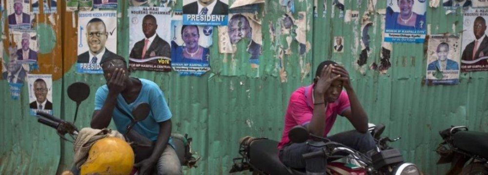 Uganda's Museveni Wins Disputed Polls