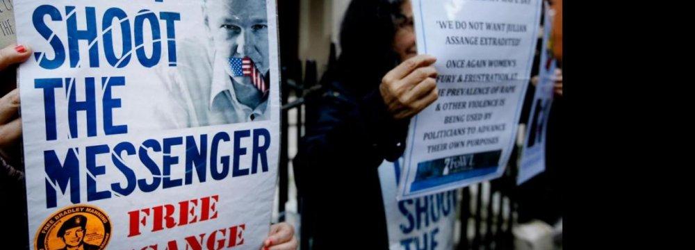 WikiLeaks' Assange Wins Support of UN Panel