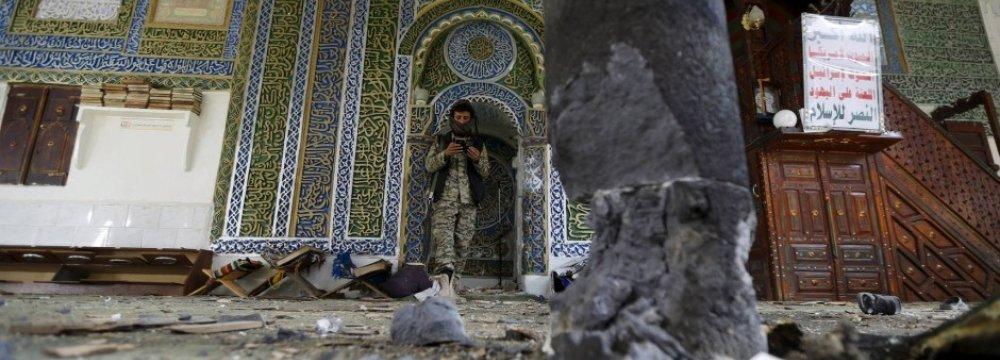 IS Kills 10 in Yemen Mosque