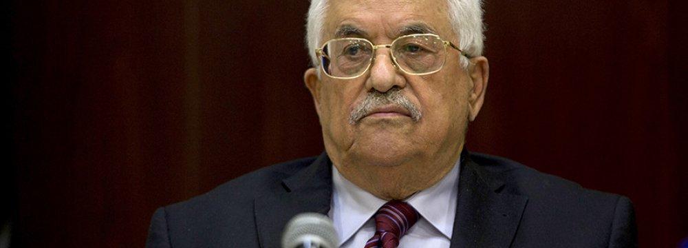Abbas Resigns as PLO Chief