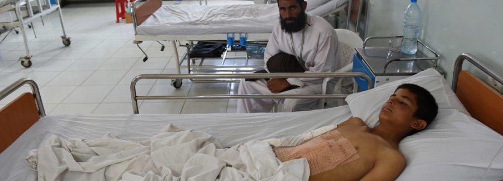 MSF Denies Taliban Were Firing from its Hospital