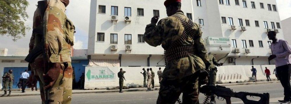 Al-Shabab Attacks Mogadishu