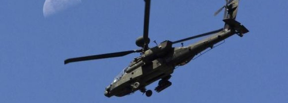 10 US Apaches  for Egypt