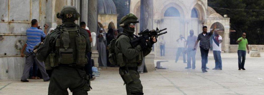 Al-Aqsa Closure 'Declaration of War'
