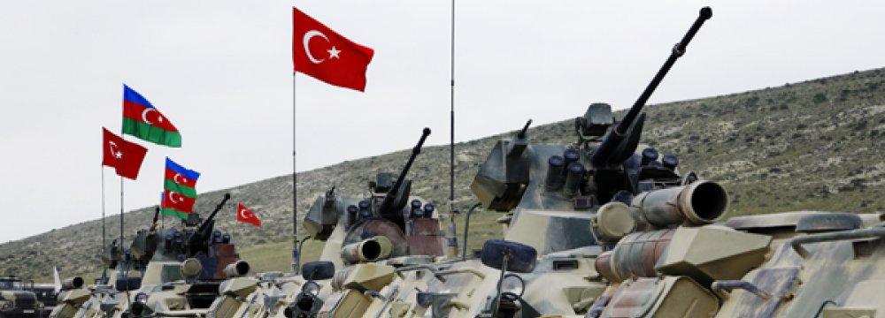 Azerbaijan-Turkey Drill