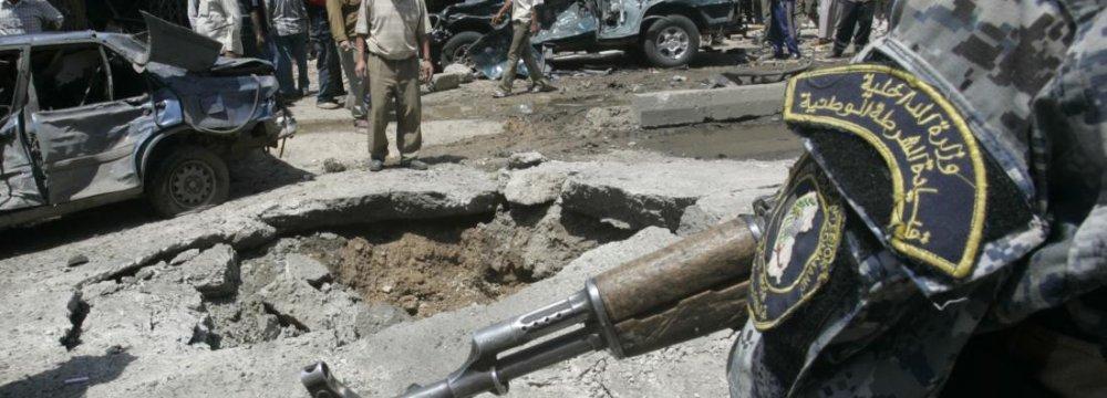 Baghdad Suicide Bombing