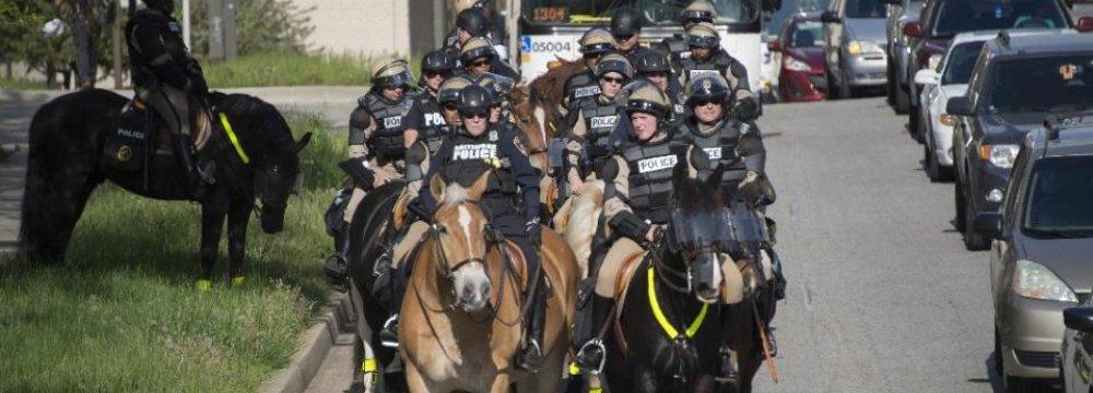 Dozens Arrested for  Breaking Baltimore Curfew