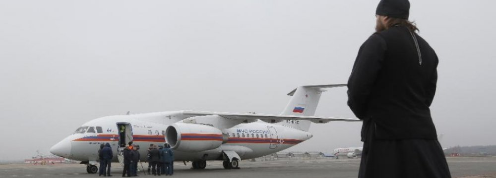 "Russian Plane Black Boxes Point to ""Attack"""