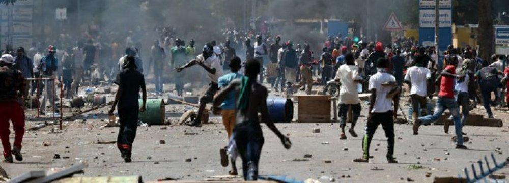 A Million Protest Burkina Faso President Reelection Bid