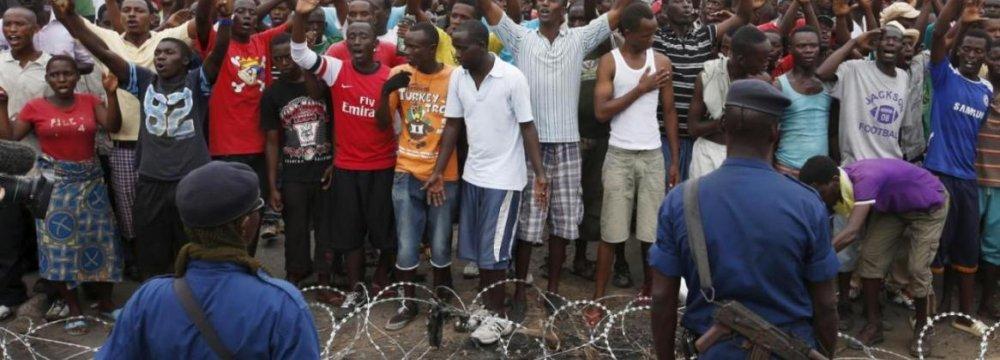 Burundi President Misses Regional Crisis Summit