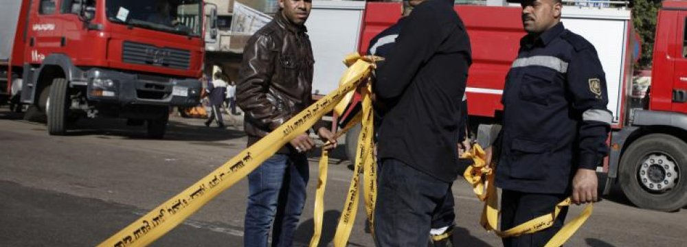 Explosion at Cairo Police Station