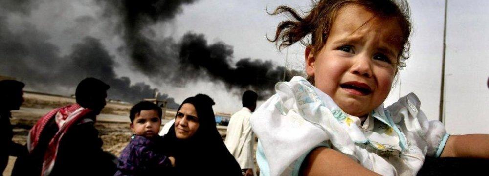 UN Helplessly Watching Children Die in War Zones