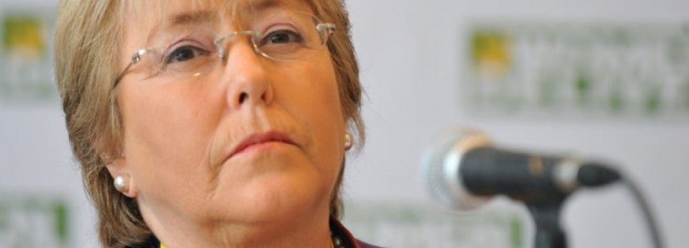 Bachelet Names New Chile Cabinet