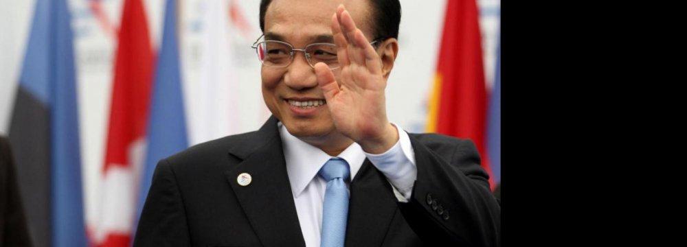 Japan Ties Face Test, Says China's Li