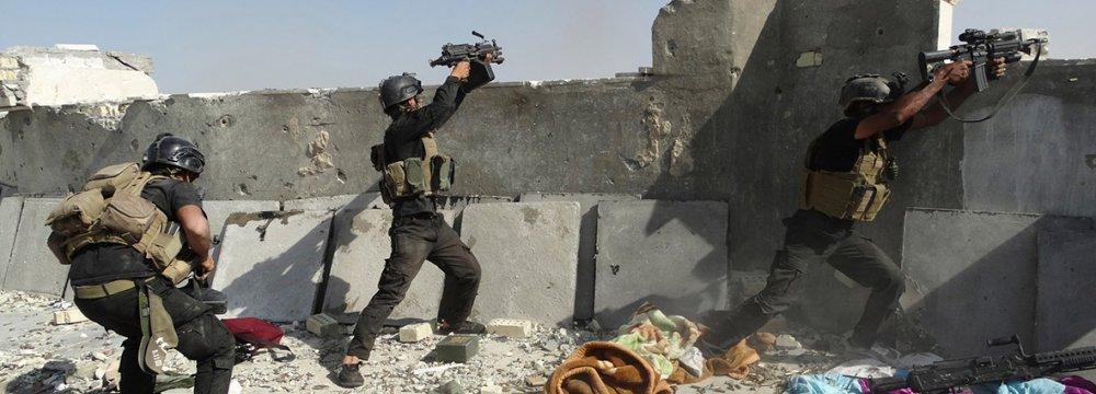 Baghdad Confirms  IS Chlorine Attack