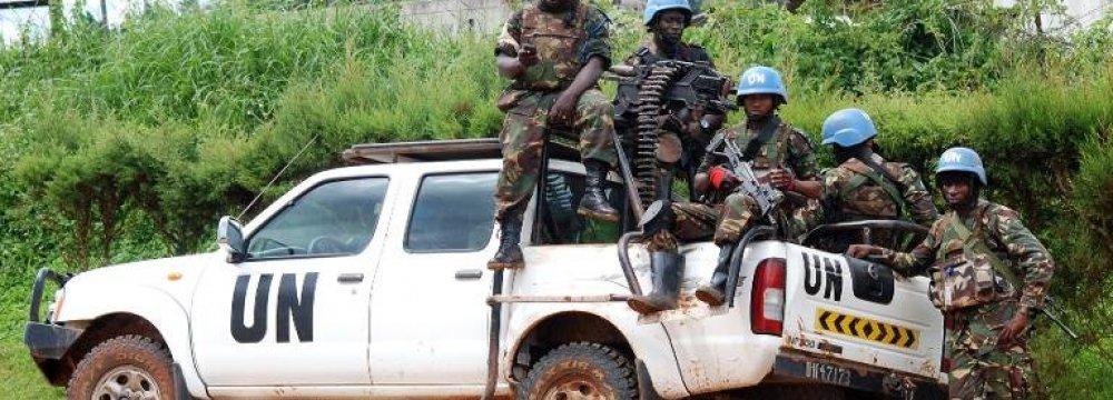 UN Prepares Offensive Against DR Congo Rebels