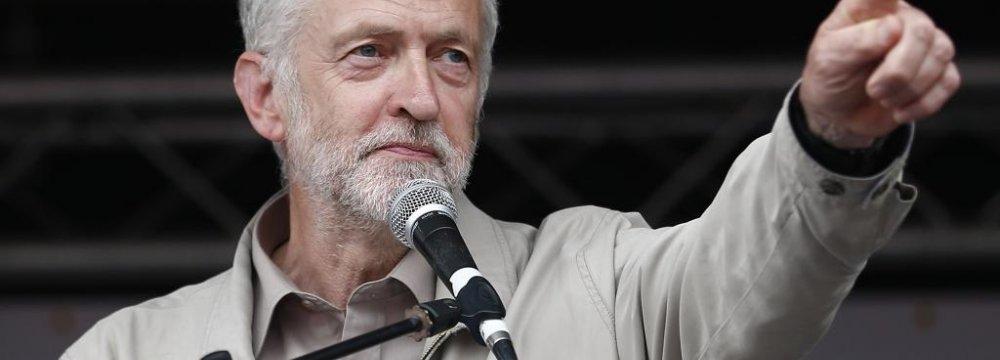 UK's Corbyn Makes Tumultuous Debut