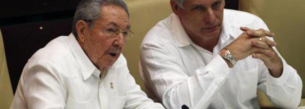 Raul: US Must Respect Cuba System