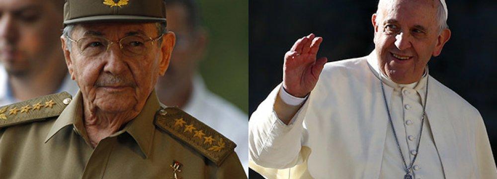 Embargo, Human Rights Top Pope's Cuba Trip Agenda