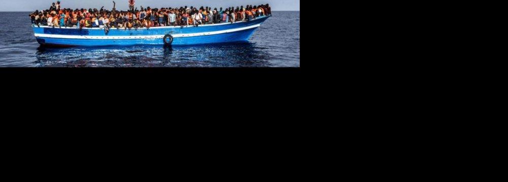 UN Urges Migrant Asylum, Protection in Mediterranean