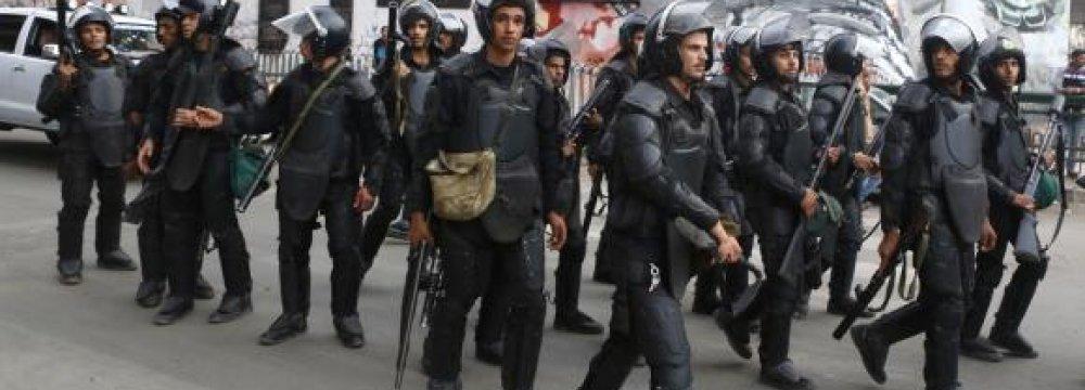 Egypt Arrests Top Brotherhood Member