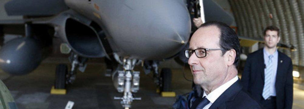 France Raises Military Budget