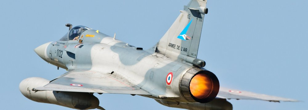 France Sends Jets to Jordan
