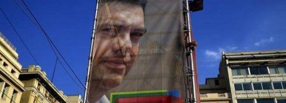 Greece's Syriza Takes Lead