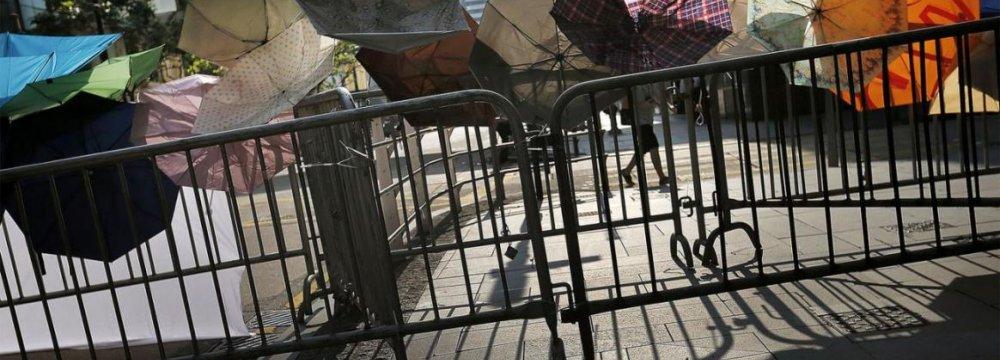 China Denies Change in HK Policies