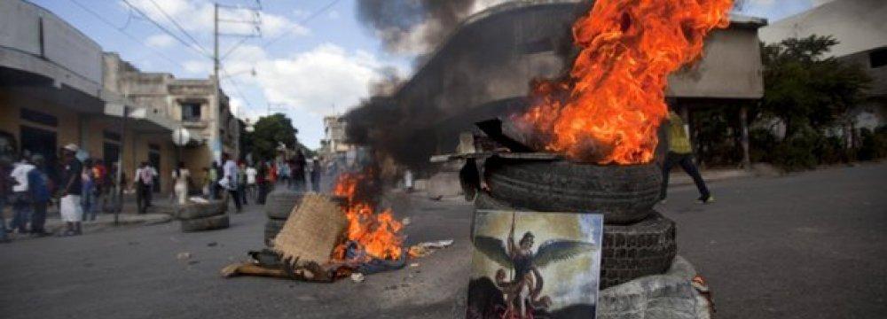 Protestors, Police Clash in Port-au-Prince