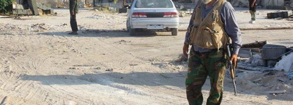 IS Cracks Down on Iraqi Town