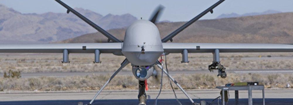 Afghan Drone Killes 30 IS Militants