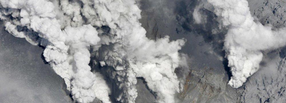 Japan Volcano Wreaks Havoc