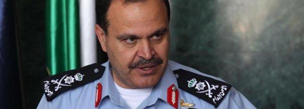 Jordan's Interior Minister Resigns