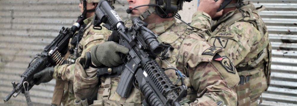 US Soldiers Killed  Near Kabul