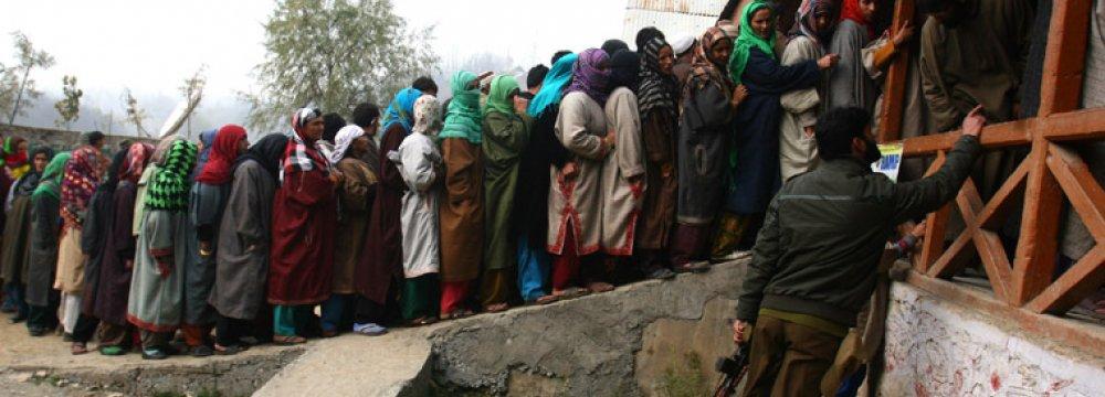 Indian Kashmir Votes, Modi Eyeing Power