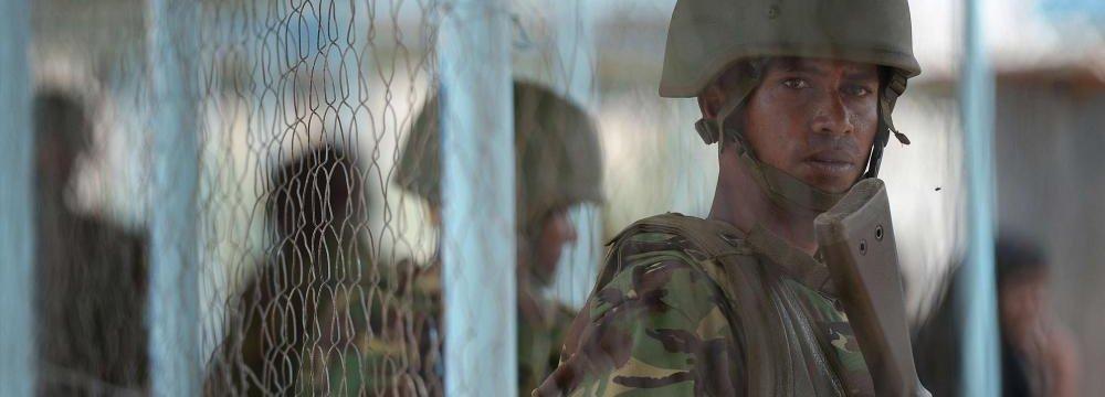 Kenya Bombs al-Shabaab Camps  in Somalia