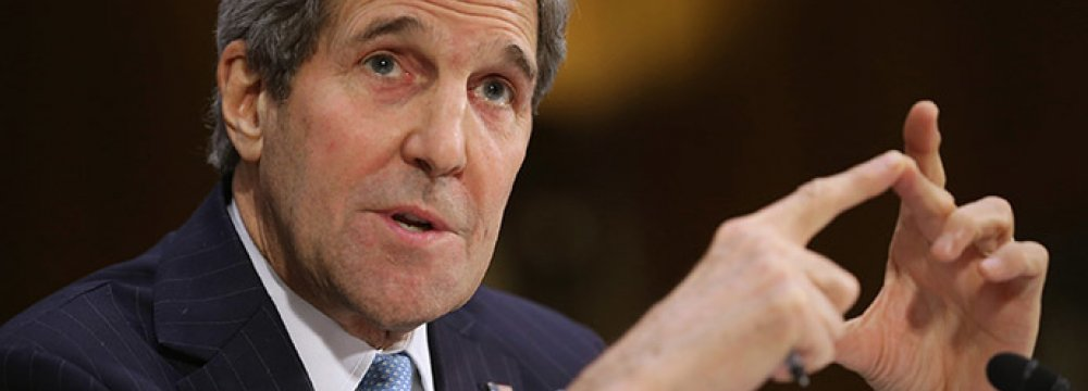 Kerry to Congress: Don't Limit US War Powers