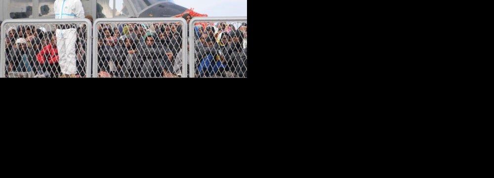 Migrant Boat Sinks Off Libya, 700 Feared Dead