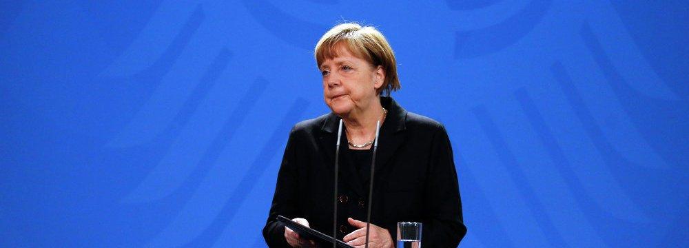 Merkel's 'Anti-Russian Front' Falls Apart