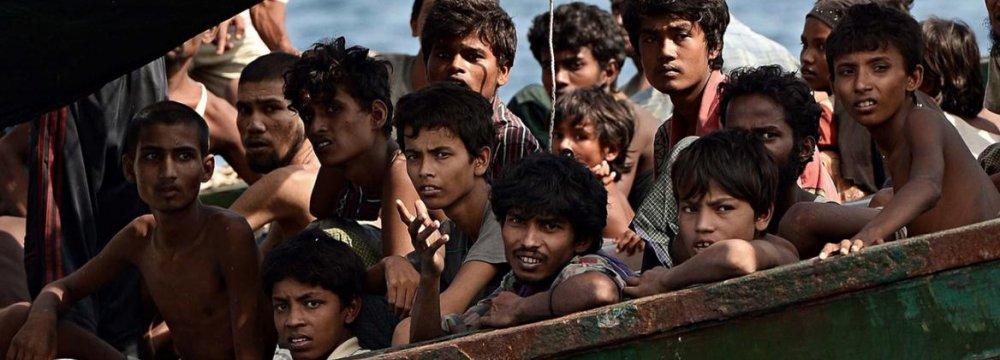 Myanmar, UN Spar Over Rohingya Talks