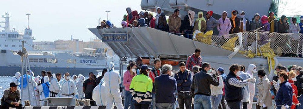EU Pledges Support to Migrant Crisis