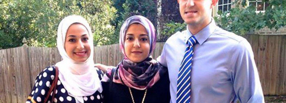 3 Muslims Gunned Down in N. Carolina