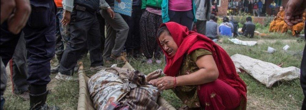 Nepal Quake Toll Passes 3,700