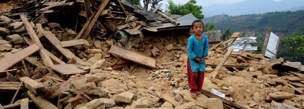 Nepal Quake Toll Tops 7,500