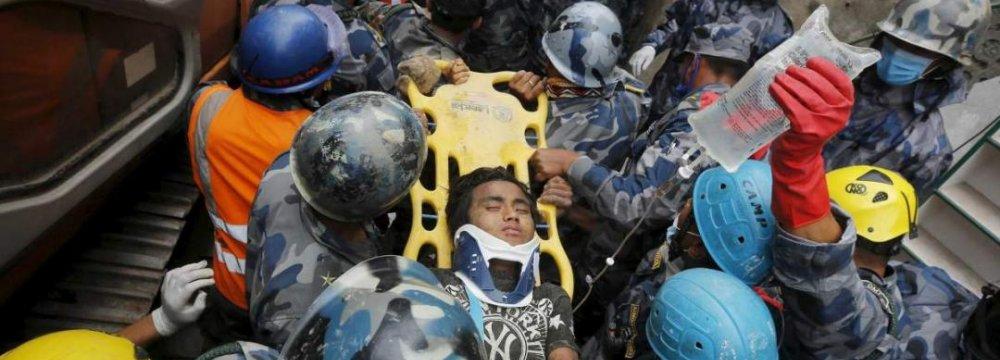 Nepal Quake Toll Above 7,000