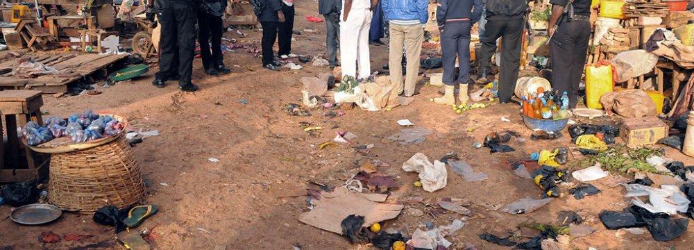 Nigeria Bomb Blast Kills 16