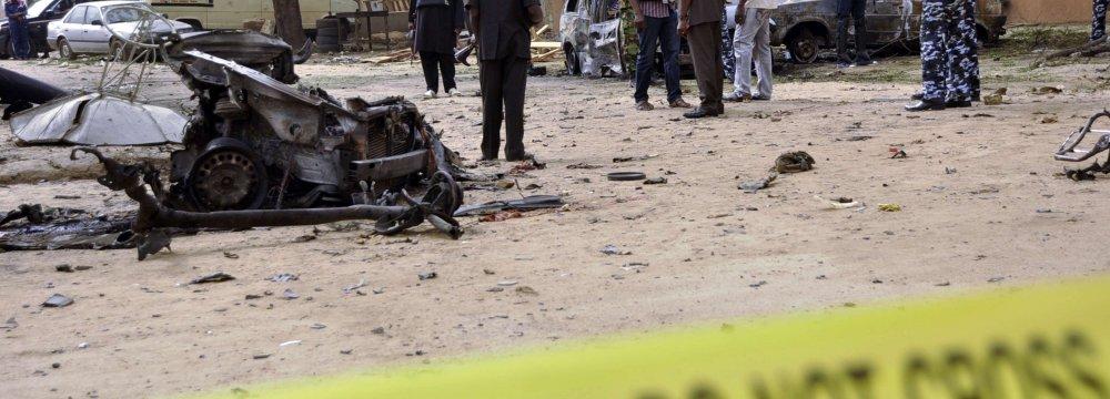 Triple Bombing Kills 7 Nigerians