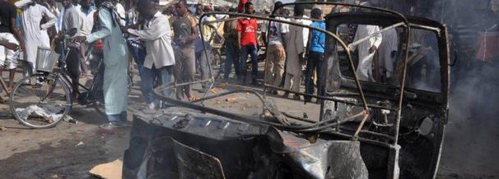 40 Killed in Nigeria Blast