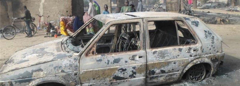 Children Burnt Alive in Nigeria